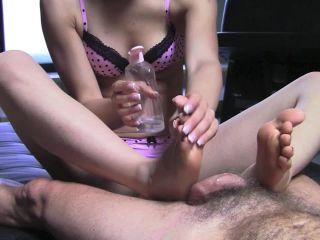 MISTRESS GAIA – OIL FOOTJOBS | barefoot footjob | fetish porn redhead fetish