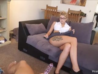 ManyVids Webcams Video presents Girl Isla_White in POV Schoolgirl dildo spank suck and fuck