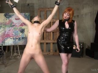 wasteland: march 14, 2019 – ava mir-ausziehen, mistress irony/it's a good day for a hard flogging – lesbian bdsm punishment