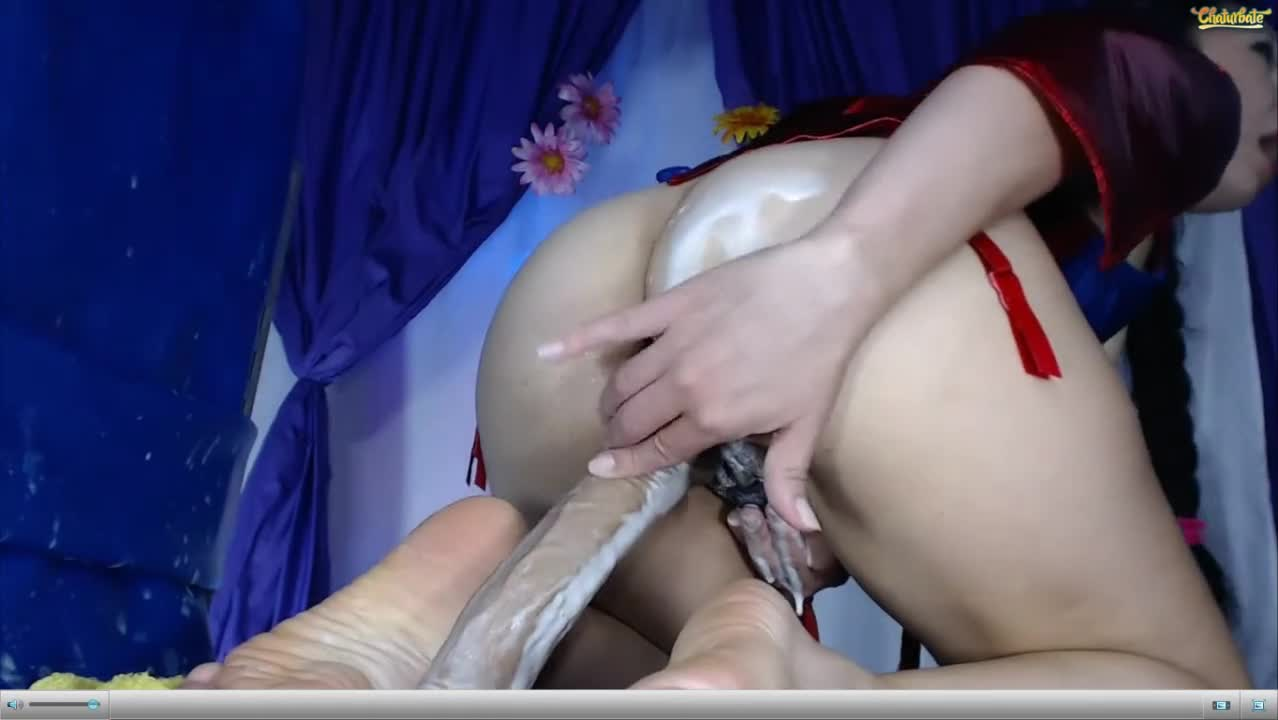 Another Creamy Dildo Cam