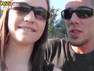 Outdoor couplesex in the park