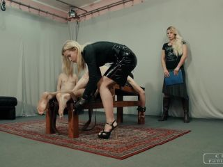 Foot Torture – CRUEL PUNISHMENTS – SEVERE FEMDOM – Punishment institution XI – Mistress Anette and Mistress Zita