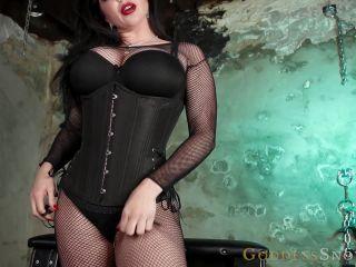 Goddess Alexandra Snow – Humbled and Tethered – Assworship – CBT, Slave Training - cbt instruction - pov leather fetish