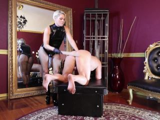 KinkyMistresses – Fucked By Helena – Pegging – Corporal Punishment, Anal on strap on she anal