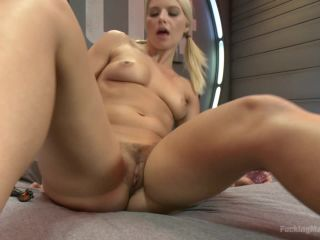 Kink.com- Super Blond: Annika Albright and her AWESOME Body Fuck Machines-- Anikka Albrite