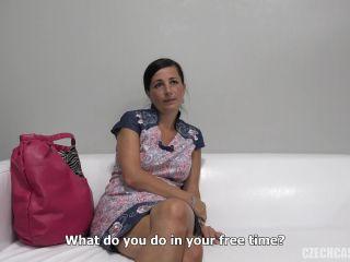 Denisa MILF Casting Posing Talking Oil HDRip