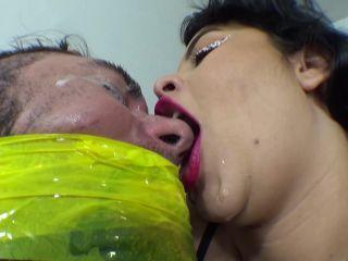 Bad Breath Goddess - Bad Breath With Spit Soup [FullHD 1080P] - Screenshot 3