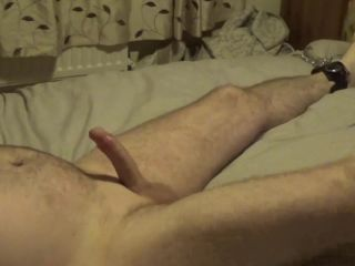 Ruined Orgasm — Femdom Edging and Post Orgasm Torture whilst Tied to Bed