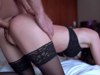 Hot Teen Gets Her Ass Fucked After Party