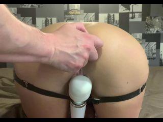 CrazyWifeSlut Anal fisting and huge plugs penetration
