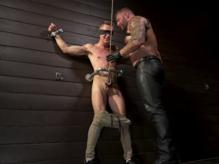 Daddy's Boy: Leather Daddy Colby Jansen dominates Zak Bishop
