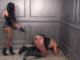 Whipping – Mistress Nikita FemDom Videos – Obey Nikita – Cheap Whore Punished