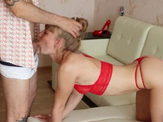 Real homemade. Russian whore is roughly fucked. Fuck face, Doggystyle