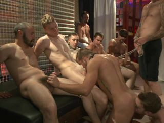 Hot ripped stud tormented and gang fucked at local sex club - Kink  November 8, 2013