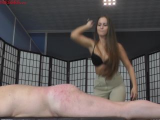 Corporal Punishment – CRUEL MISTRESSES – Caned by Amanda – Mistress Amanda