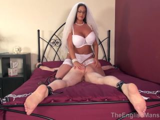 The English Mansion — Honeymoon Wedlock — Complete Film. Starring Mistress Pandora  arse licking  big breasts  blindfold  bondage  bed  k2s.cc  femdom online