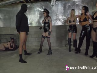 Brat Princess – Chloe, Jackie, Macy, Raquel – Pain Slave Audition ends in Catastrophe
