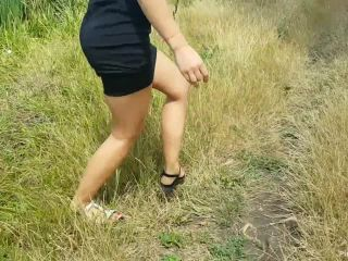 ManyVids Webcams Video presents Girl Blueemotion89 in i seduce my step brother outdoor