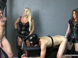 Blondes – Atlanta Dungeon – Go Big or Go Home – Goddess Samantha and Mistress Ayn
