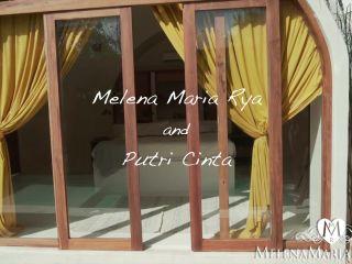 MelenaMariaRya Squirting And Cumming Together With Putri Cinta 06.13 ...