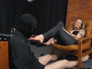 Femdom 2019 Cruel Anettes Fetish Store Feet Licking In A Special Way Foot Worship Foot Fetish Smoking Sole Licking Foot Domination  Slave