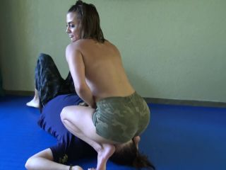 """REALITY GIRLS SCISSORS: """"I'M GONNA FUCK YOUR BRAIN OUT"""" (4K UHD) (ASS SMOTHERING, SCISSOR, SCISSORING, SCISSORHOLD, MIXED WRESTLING)"""