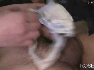 [Roselip fetish-0763] 顔面騎乗プラス ~脱いだパンツでシコシコ&セックス~