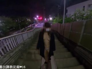 "mal malloy bbw EmirinChannel in ""Emiri Walking Naked On Footbridge And Spread Legs In The Middle Of The Road"" , asian exhibitionist on cumshot"