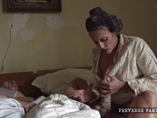 Perverse Family: Unexpected breakfast (Perverse Family 1 part 1) (4K) BDSM porn video and captions on blowjob brandi love bdsm