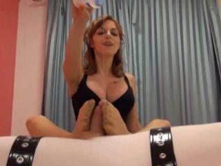 Christina QCCP - Stop Mistress Please | handjob | feet