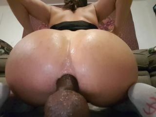 booty riding bbc and bwc dildos!