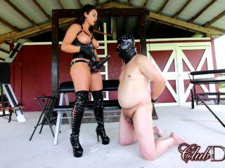 ClubDom - Kiki Klout StrapOn - Pegging - clubdom - strap on femdom chastity slave