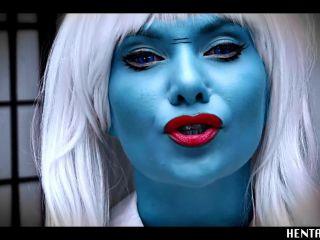 JOI - Blue Alien - Red Pussy