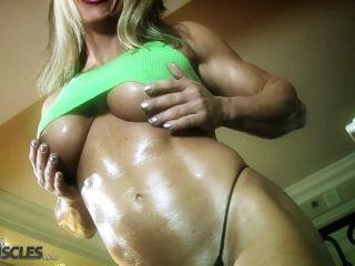 Muscular Blonde Gina Jones