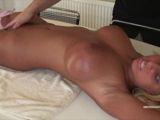 Tiff tied fingered to orgasm