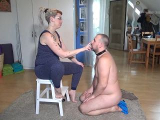 Arrogant Woman – Lady Cruellas games – The rebel slave – Brutal face slapping
