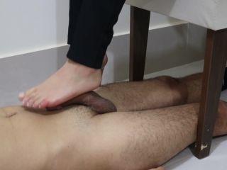 Goddess JMACC – Footjob With Mercy - goddess - fetish porn lolly hardcore porn video