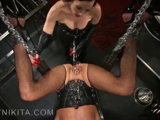 Obey Nikita - Mistress Nikita - Beg My Cock For Mercy!!!