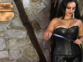 femdom mind control bdsm porn | Sado Ladies Femdom Clips: Mistress Ezada Sinn - A Hard Belting | hard belting