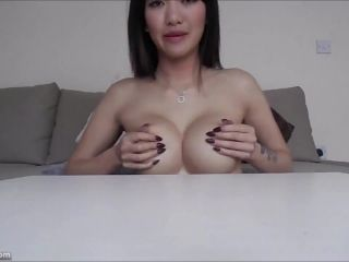 Girl MissReinaT in Pinching and Slapping Breast! Milk!, asian extreme orgasm on webcam