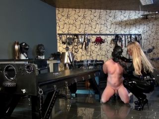 7306 Anal and Strap-On Session in Dungeon
