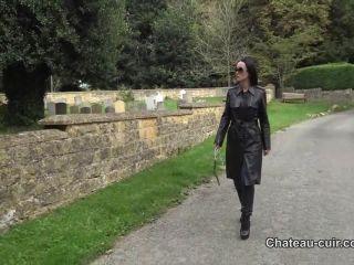 Chateau-Cuir – My personal leather slave - jerkoff - fetish porn femdom control