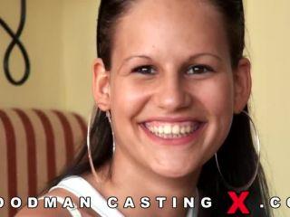 Amanda Baby casting X  2013-04-30, brunette on college porn