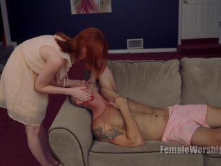 FemaleWorship: Miss Alex Harper - Tell Me I Taste Good - miss alex harper - cumshot crush fetish sites