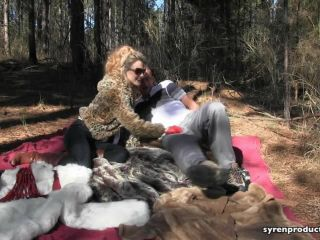 Mistress Aleana's Queendom - CBT Fur Picnic, bra fetish porn on fetish porn