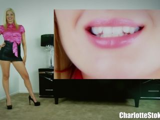 Charlotte Stokely - Sissy Humiliation At Work!!!