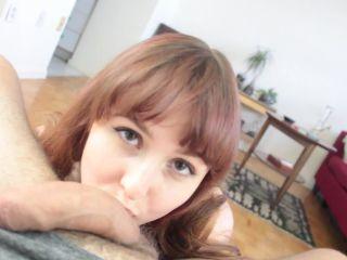 Weed Makes Me Horny POV Blowjob – 420sextime - 420sextime - pov natural tits brunette blowjob