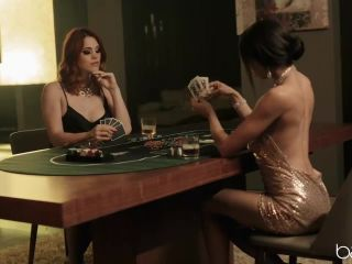 Babes Molly Stewart and Alexis Tae Hold Em Or Fold Em x265 HEVC b ...