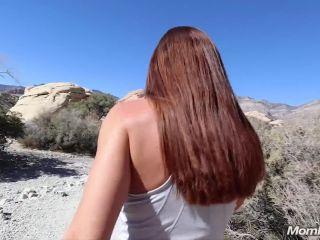 Mompov.com - Ivy-  Fit busty MILF on a hike BONUS