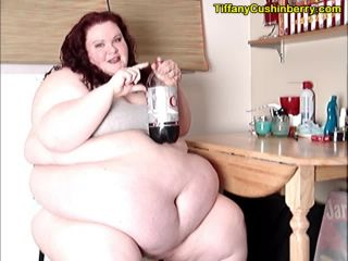 Chugging Pop and Burping For You - How Much Can This SSBBW Belch